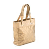 Chanel Gold Canvas Paris Biarritz Tote Bag (Authentic Pre Owned)