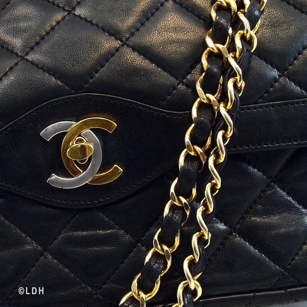 Chanel Lambskin Double Flap (Authentic Pre Owned)