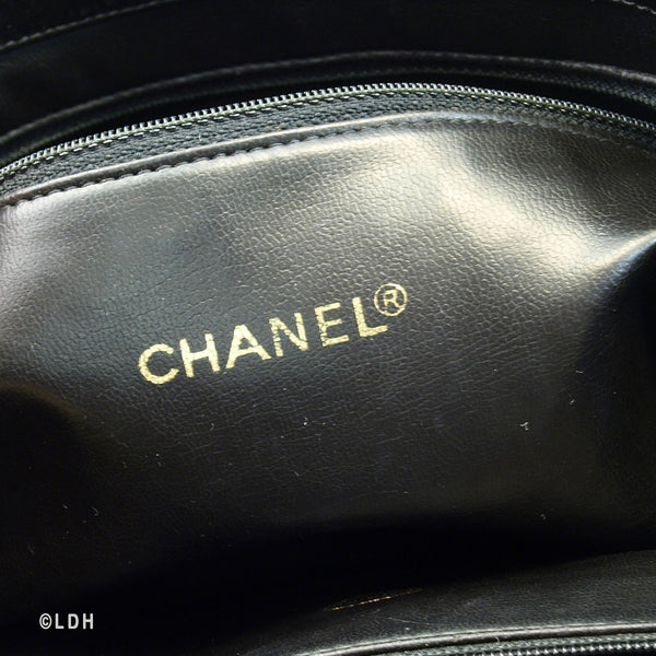 Chanel Patent Shopping Tote (Authentic Pre Owned)