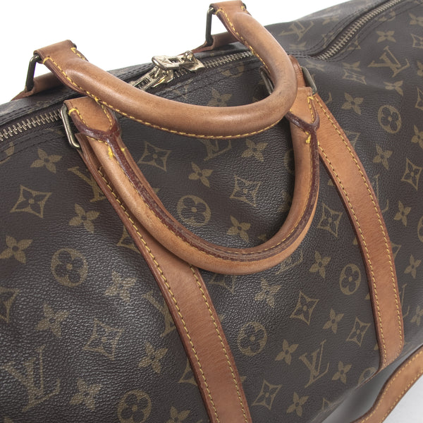 Louis Vuitton Keepall  Bandouliere 55  (Authentic Pre Owned)