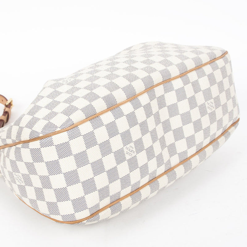 Louis Vuitton Damier Azur Siracusa MM (Authentic Pre Owned)