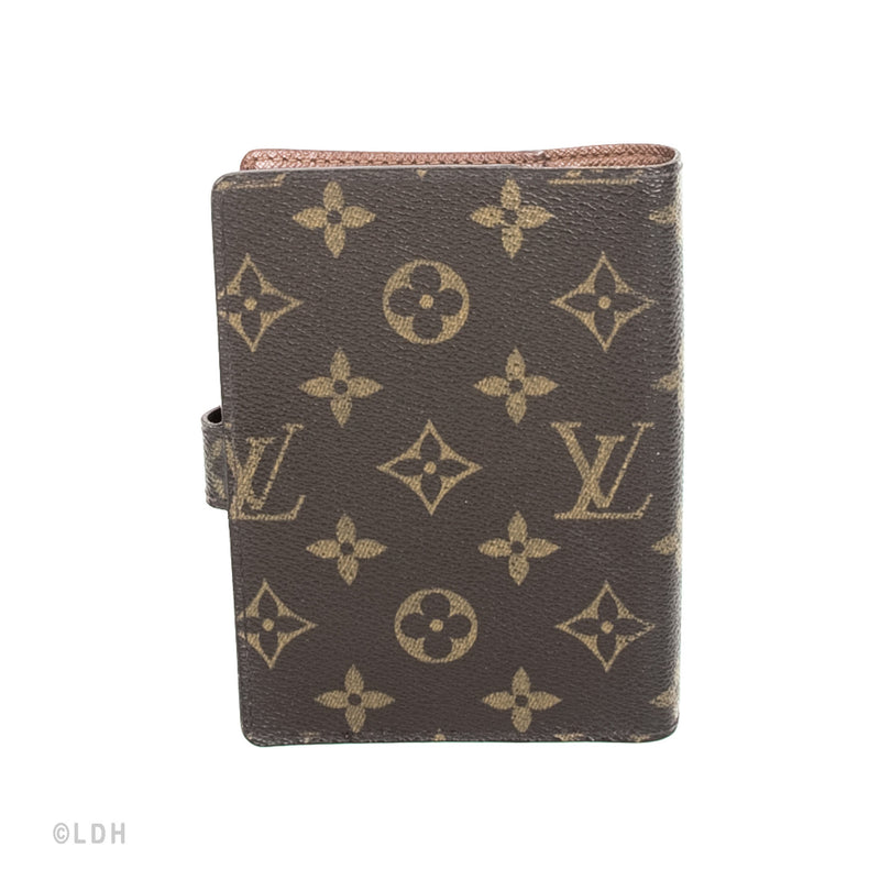 Louis Vuitton Canvas Agenda Cover  (Authentic Pre Owned)