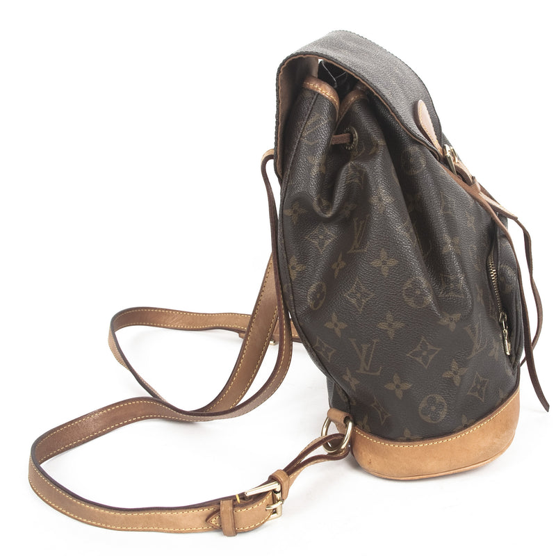 Louis Vuitton Monogram Montsouris Backpack (Authentic Pre Owned)