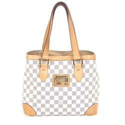 Louis Vuitton Damier Azur Hampstead PM (Authentic Pre Owned)