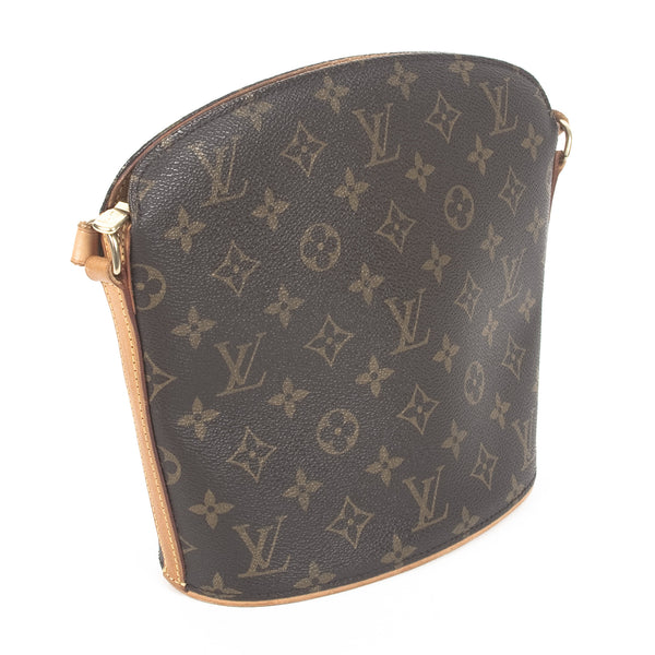 Louis Vuitton Drouot Handbag (Authentic Pre Owned)