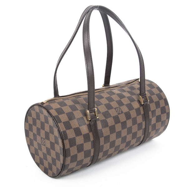 Louis Vuitton Damier Ebene Papillon 30 (Authentic Pre Owned)