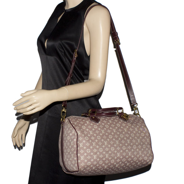 Louis Vuitton  Mini Lin Speedy 30 (Authentic Pre-owned)