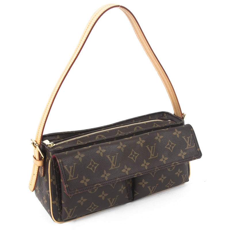 Louis Vuitton Monogram Viva Cite (Authentic Pre Owned)