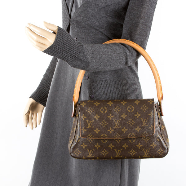 Louis Vuitton Monogram Looping Mini (Authentic Pre Owned)