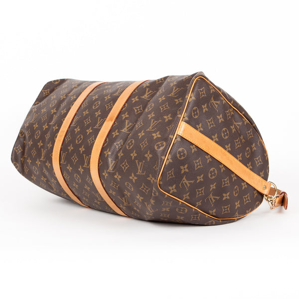 Louis Vuitton Keepal 50 leather