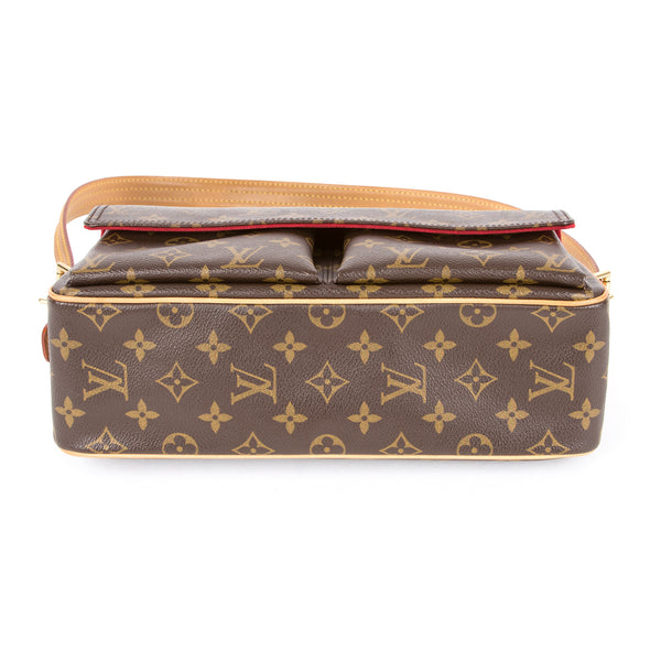 Louis Vuitton Monogram Cite MM (Authentic Pre Owned)