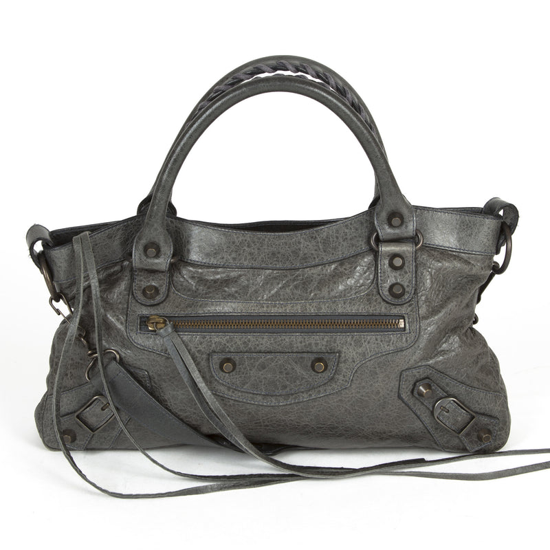 Balenciaga First  Anthracite (Authentic Pre Owned)