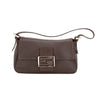 Fendi Brown Leather Baguette (Pre Owned)