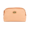Fendi Pink Selleria Leather Cosmetic Pouch (Pre Owned)