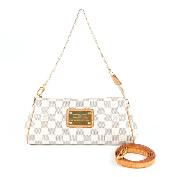 Louis Vuitton Eva Damier Azur (Authentic Pre Owned)