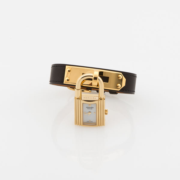 Hermes Leather Kelly Watch (Never Carried)
