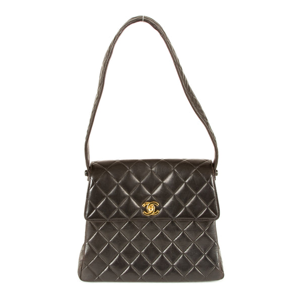 0fbe24503574 Chanel Vintage Quilted Shoulder Bag (Authentic Pre Owned) - 1806007 ...
