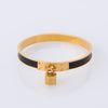Hermes Kelly Leather Cadena Bracelet (Pre Owned)
