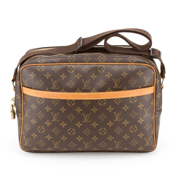Louis Vuitton Monogram Reporter GM (Authentic Pre-Owned)