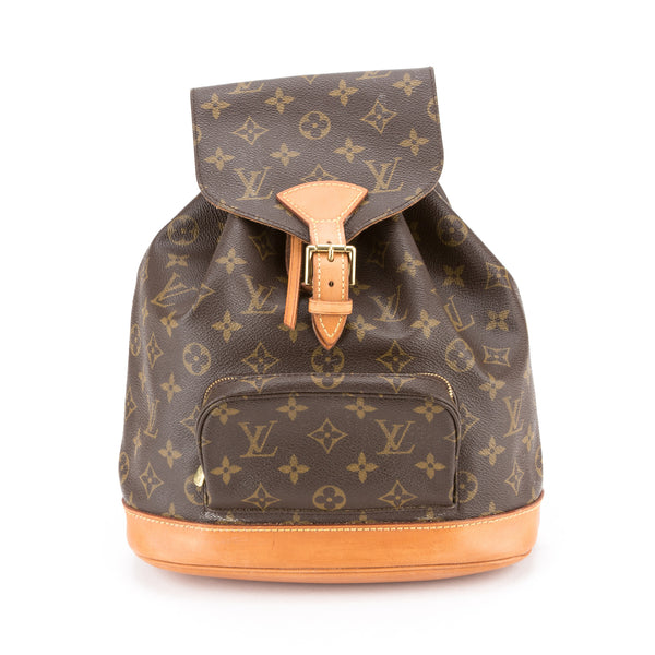 39639fbb8399 Louis Vuitton Monogram Montsouris Backpack MM (Authentic Pre Owned ...