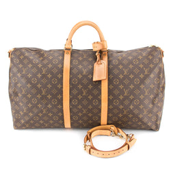 Louis Vuitton Monogram Keepall  Bandouliere 60  (Authentic Pre Owned)