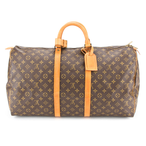 Louis Vuitton Monogram Keepall 55 (Authentic Pre Owned)