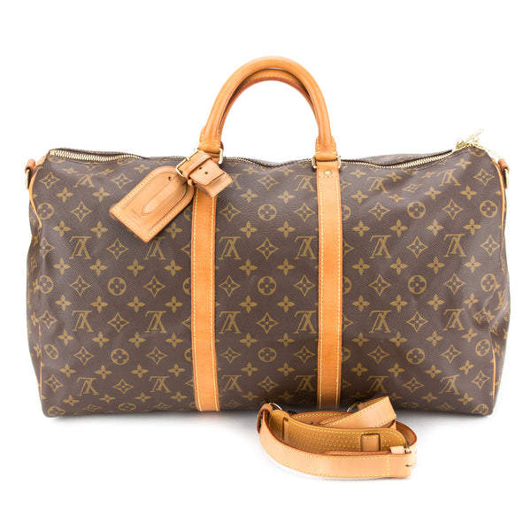 Louis Vuitton Keepall  Bandouliere 50 (Authentic Pre Owned)