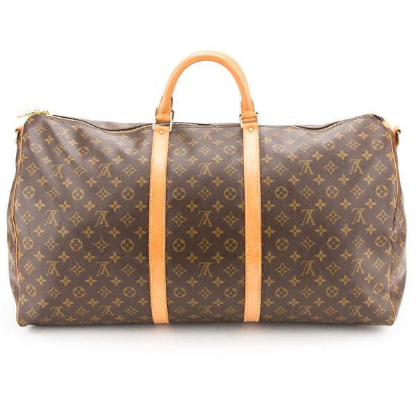 Louis Vuitton Keepall  Bandouliere 60  (Authentic Pre Owned)
