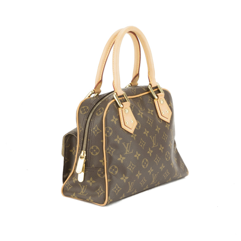 Louis Vuitton Monogram Manhattan PM Bag (Authentic Pre Owned)