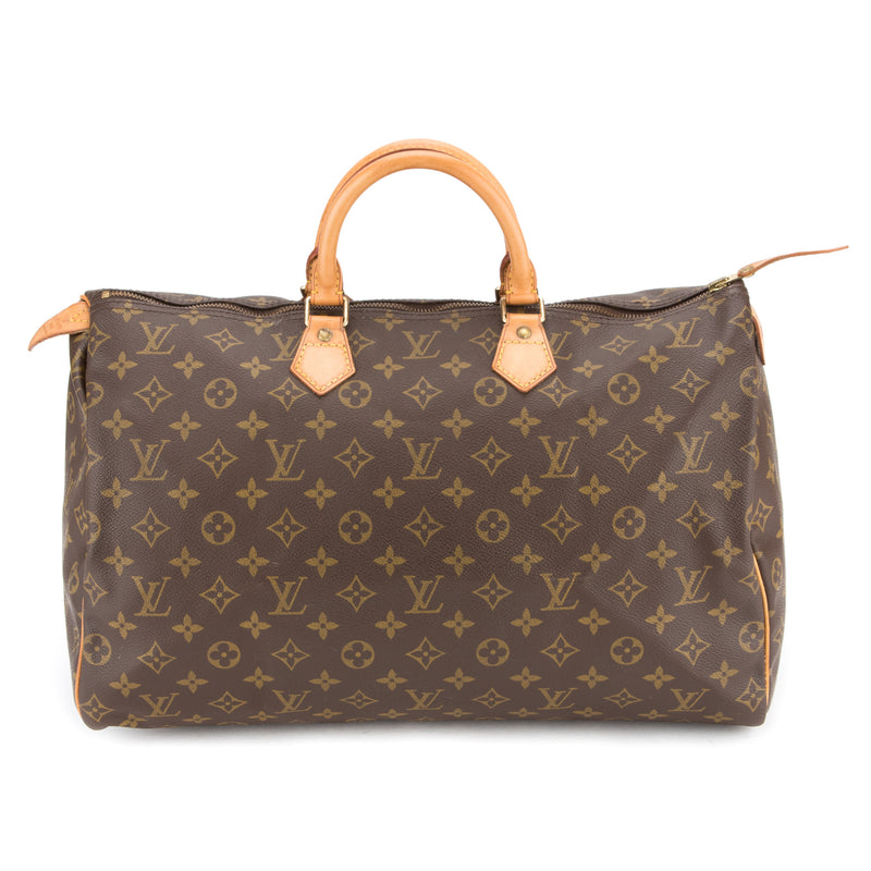 Louis Vuitton  Speedy 40 Monogram (Authentic Pre-Owned)