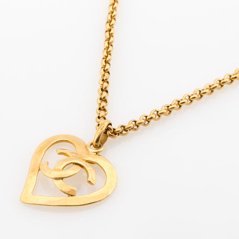 Chanel CC Necklace Gold (Pre Owned)