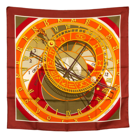 Hermes Silk Scarf  (Authentic Pre Owned)