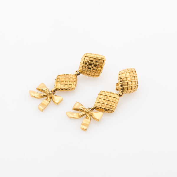 5fcc3753a Chanel Dangle Clip Earrings (Authentic Pre Owned) - 1953004 | LuxeDH