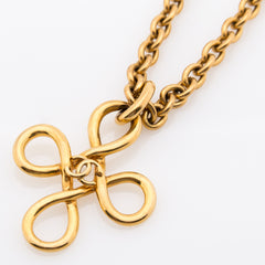 23730daa56d Chanel Gold CC Necklace