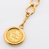 Chanel CC Chain Gold Medallion Belt (Pre Owned)