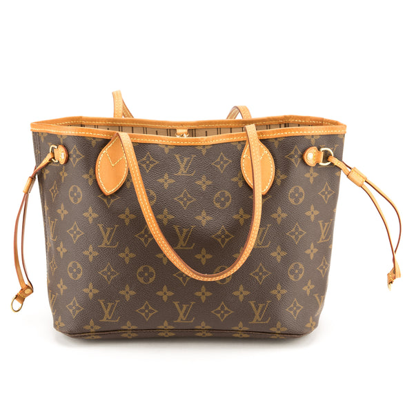 Louis Vuitton Brown Neverfull PM Tote Bag (Authentic Pre Owned ... 59e7b1ff06418