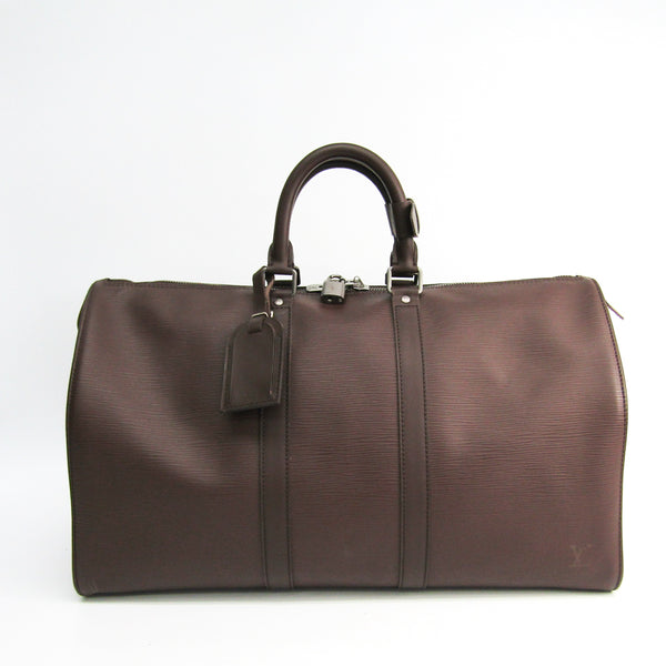 Louis Vuitton Brown Epi Keepall 45 (SHA-54315)