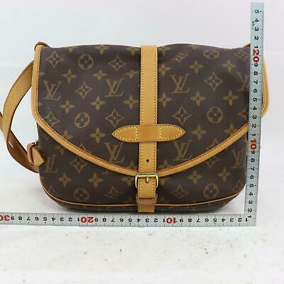 Louis Vuitton Shoulder Bag M42256 Saumur 30 Brown Monogram