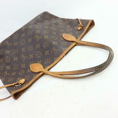 Authentic Louis Vuitton Tote Bag Neverfull Pm M40155 Brown Monogram