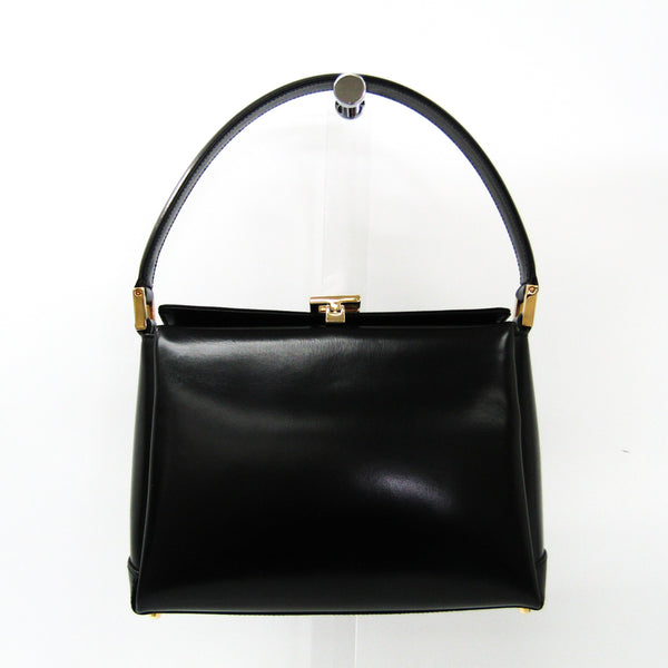 Gucci Black Leather Top Handle (SHA-36266)