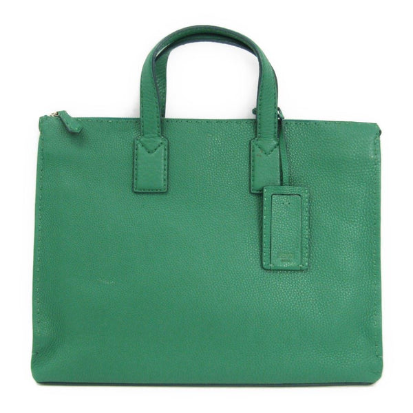 Fendi Green Leather Selleria Tote (SHA11190)