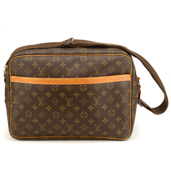 Louis Vuitton Monogram Reporter GM (Authentic Pre Owned)