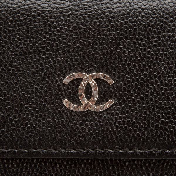 Chanel Black Caviar Bifold Wallet (Authentic Pre Owned)