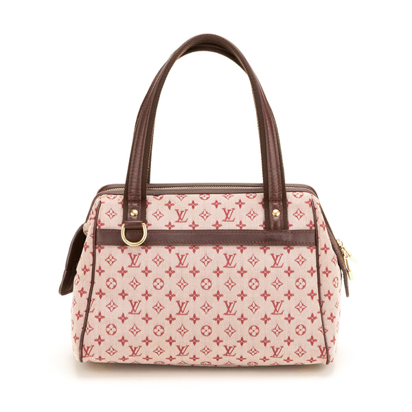 9758746cb13f Louis Vuitton Burgundy Josephine PM Bag (Authentic Pre Owned ...