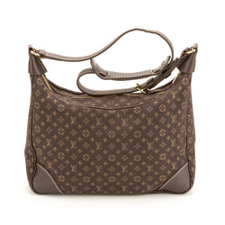 Louis Vuitton Mini Lin Ebene Boulogne (Authentic Pre Owned)