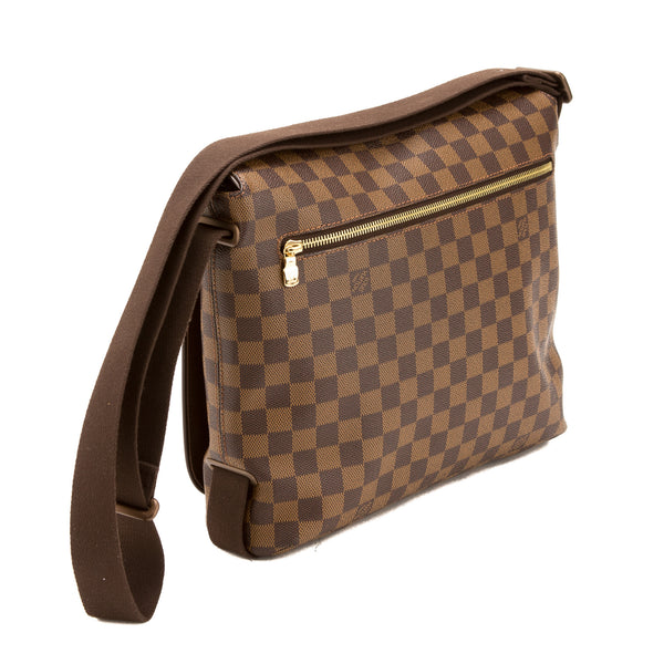 Louis Vuitton Damier Ebene Brooklyn MM Bag (Authentic Pre Owned)