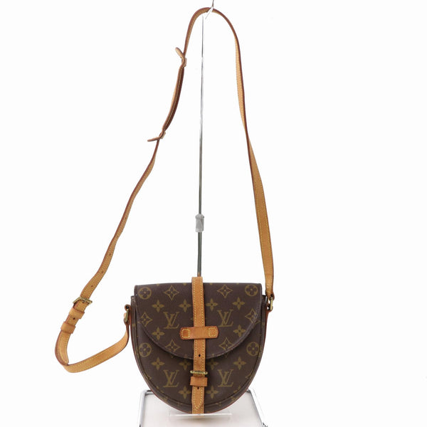 Louis Vuitton Shoulder Bag Chantilly Pm Brown Monogram  (SHC7-11007)