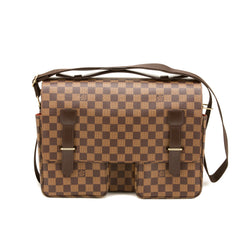 Louis Vuitton Damier Ebene Broadway Bag  (Authentic Pre Owned)