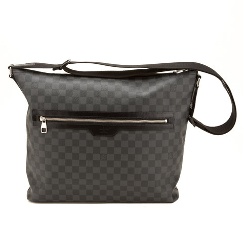 Louis Vuitton Damier Graphite Mick GM Bag (Authentic Pre Owned)