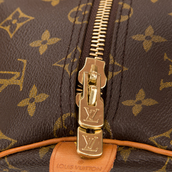Louis Vuitton Monogram Keepall 55 Bag (Authentic Pre Owned)